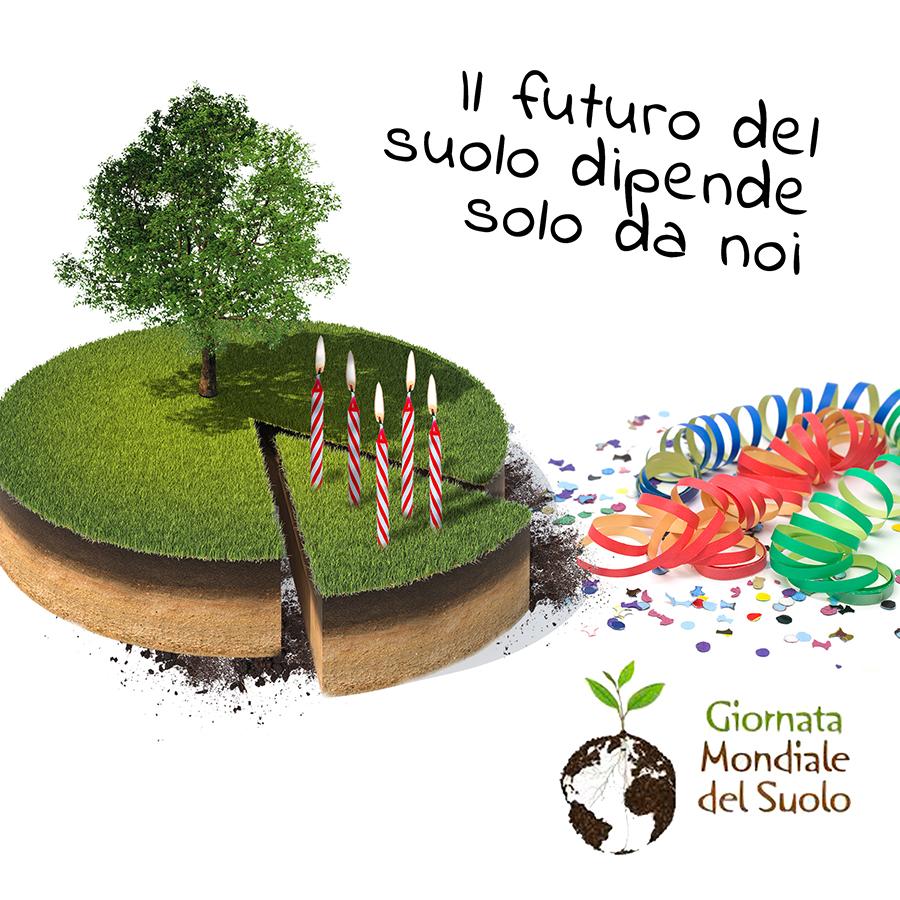 5 dicembre - Giornata Mondiale del Suolo: più cibo da un suolo più nutrito e più sano